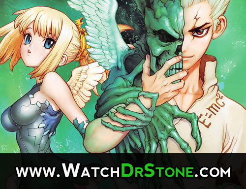 Dr. Stone Anime Episode 1 Countdown